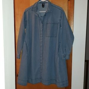 Agnes & Dora Jean Material Tunic Top with Pockets!